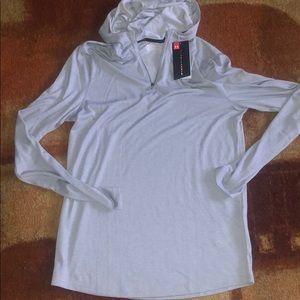 Under Armour 1/4 Zip Hooded Shirt